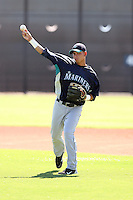 Yordyn Calderon - Seattle Mariners - 2010 Instructional League.Photo by:  Bill Mitchell/Four Seam Images..