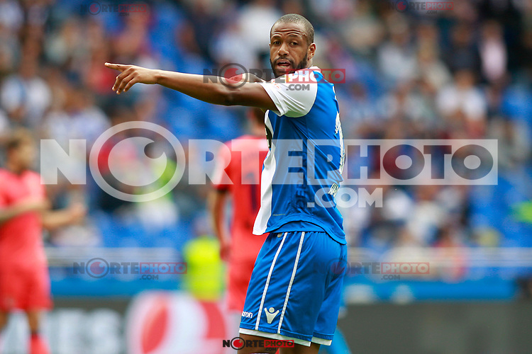 Deportivo de la Coruna's Sidnei Rechel da Silva during La Liga match. September 10,2017. (ALTERPHOTOS/Acero) /NortePhoto.com