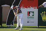 Rory McIlroy tees off on the 7th hole during  Day 3 at the Dubai World Championship Golf in Jumeirah, Earth Course, Golf Estates, Dubai  UAE, 21st November 2009 (Photo by Eoin Clarke/GOLFFILE)