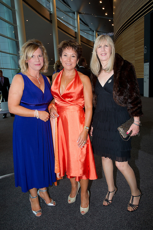 Robyn Delloro, Trudy Huczko, Faye Lorain, 2011 South Australian Premiers Food Awards. At the Convention Centre.