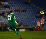 Iago Herrerin, RCD Espanyol v Athletico Club Bilbao, Jornada 19 on 14 January 2018, RCDE Estadium, Barcelona. La Liga Santander 2018. Photo Martin Seras Lima
