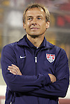 11 September 2012: U.S. head coach Jurgen Klinsmann (GER). The United States Men's National Team played the Jamaica Men's National Team at Columbus Crew Stadium in Columbus, Ohio in a CONCACAF Third Round World Cup Qualifying match for the FIFA 2014 Brazil World Cup.