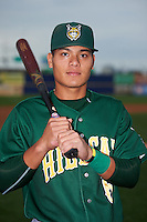 Lynchburg Hillcats shortstop Yu-Cheng Chang (6) poses for a photo before a game against the Wilmington Blue Rocks on June 3, 2016 at Judy Johnson Field at Daniel S. Frawley Stadium in Wilmington, Delaware.  Lynchburg defeated Wilmington 16-11 in ten innings.  (Mike Janes/Four Seam Images)