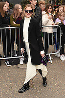 Olivia Palermo<br /> arrives for the Topshop Unique AW17 show as part of London Fashion Week AW17 at Tate Modern, London.<br /> <br /> <br /> &copy;Ash Knotek  D3232  19/02/2017