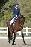 Class 5. British dressage. Brook Farm Training Centre. Essex. UK. 26/10/2018. ~ MANDATORY Credit Garry Bowden/Sportinpictures - NO UNAUTHORISED USE - 07837 394578