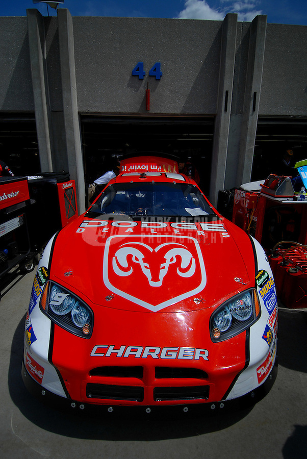 May 19, 2006; Charlotte, NC, USA; The car of Nascar Nextel Cup driver Kasey Kahne (9) during practice for the Nextel All Star Challenge at Lowes Motor Speedway. Mandatory Credit: Mark J. Rebilas