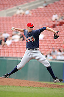 July 20th 2008:  Pitcher Phil Stockman of the Richmond Braves, Class-AAA affiliate of the Atlanta Braves, during a game at Dunn Tire Park in Buffalo, NY.  Photo by:  Mike Janes/Four Seam Images