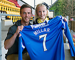 St Johnstone Players Sponsors Night, McDiarmid Park...09.05.12.Chris Millar.Picture by Graeme Hart..Copyright Perthshire Picture Agency.Tel: 01738 623350  Mobile: 07990 594431
