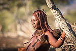 A Himba Woman Near Sesfontein.