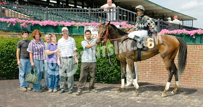 Cusabo winning at Delaware Park on 7/9/12