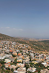 Israel, Lower Galilee. A view of Ma'er