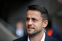 Lukasz Fabianski of Swansea City arrives prior to the game during the Premier League match between Swansea City and Newcastle United at The Liberty Stadium, Swansea, Wales, UK. Sunday 10 September 2017