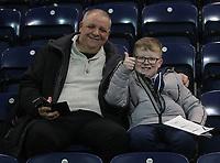Preston North End's Fans anticipate the kick-off<br /> <br /> Photographer Mick Walker/CameraSport<br /> <br /> The EFL Sky Bet Championship - Preston North End v West Bromwich Albion - Monday 2nd December 2019 - Deepdale Stadium - Preston<br /> <br /> World Copyright © 2019 CameraSport. All rights reserved. 43 Linden Ave. Countesthorpe. Leicester. England. LE8 5PG - Tel: +44 (0) 116 277 4147 - admin@camerasport.com - www.camerasport.com