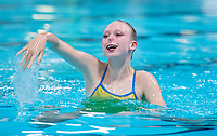 Picture by Allan McKenzie/SWpix.com - 26/11/2017 - Swimming - Swim England Synchronised Swimming National Age Group Championships 2017 - GL1 Leisure Centre, Gloucester, England - Madeleine Staples.