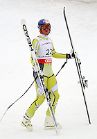 06.02.2013, Planai, Schladming, AUT, FIS Weltmeisterschaften Ski Alpin, Super-G, Herren, im Bild Aksel Lund Svindal (NOR), 3. Platz // Aksel Lund Svindal of Norway, 3rd place, during Super-G Men at the FIS Ski World Championships 2013 at the Planai Course, Schladming, Austria on 2013/02/06. EXPA Pictures © 2013, PhotoCredit: EXPA/ Martin Huber .Schladming 6/2/2013 .Mondiali Sci 2013.SuperG Uomini.Foto Insidefoto - ITALY ONLY