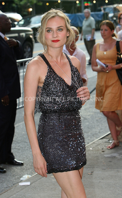 WWW.ACEPIXS.COM . . . . .  ....August 17 2009, New York City....Actress Diane Kruger arriving at The Cinema Society & Hugo Boss screening of 'Inglourious Basterds' at the SVA Theater on August 17, 2009 in New York City.....Please byline: NANCY RIVERA- ACE PICTURES.... *** ***..Ace Pictures, Inc:  ..tel: (212) 243 8787 or (646) 769 0430..e-mail: info@acepixs.com..web: http://www.acepixs.com