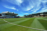 A general view during the Dream11 Super Smash women's cricket match between the Wellington Blaze and Canterbury Magicians at Basin Reserve in Wellington, New Zealand on Thursday, 9 January 2020. Photo: Dave Lintott / lintottphoto.co.nz