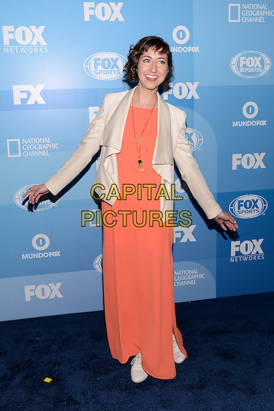 NEW YORK - MAY 11: Actress Kristen Schaal arrives at the 2015 FOX Programming Presentation Post Party at the Wollman Rink in Central Park on May 11, 2015 in New York City. <br /> CAP/MPI/PGCS<br /> &copy;PGCS/MPI/Capital Pictures