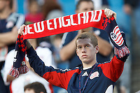 New England Revolution fan. In a Major League Soccer (MLS) match, the New England Revolution defeated Vancouver Whitecaps FC, 4-1, at Gillette Stadium on May 12, 2012.