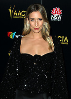 04 January 2019 - Los Angeles, California - Renee Bargh. 8th AACTA International Awards hosted by the Australian Academy held at SKYBAR at Mondrian Los Angeles.        <br /> CAP/ADM<br /> &copy;ADM/Capital Pictures