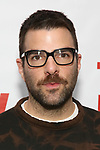 Zachary Quinto attends the World Premiere of Hamish Linklater's 'The Whirligig' at Green Fig's Social Drink and Food Club Terrace on May 21, 2017 in New York City.