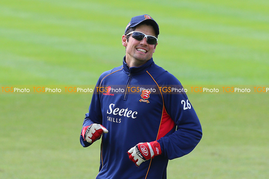 Alastair Cook of Essex looks on ahead of Worcestershire CCC vs Essex CCC, Specsavers County Championship Division 2 Cricket at New Road on 3rd May 2016