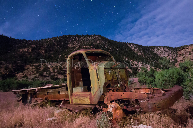 Abandoned Truck at Harper Ghost Town