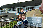 Flemby NS and BallyMcThomas NS celebrate 50th and 150th anniversary with a open day on Pictured with picture from past classes are Darragh O'Sullivan, Aisha Pabon and Eoin O'Sullivan