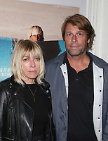 SANTA MONICA, CA - NOVEMBER 1: Kim Gordon, Jamie Brisick, at the Los Angeles Premiere of documentary Bunker77 at the Aero Theater in Santa Monica, California on November 1, 2017. Credit: Faye Sadou/MediaPunch /NortePhoto.com