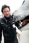 Kamiel Verschuren at this year's Sapporo Snow Festival in Sapporo City, northern Japan on 05 Feb. 2010.
