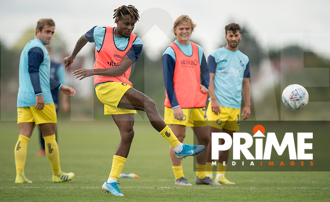 Rolando Aarons (on loan from Newcastle United) of Wycombe Wanderers during the behind closed doors friendly between Brentford B and Wycombe Wanderers at Brentford Football Club Training Ground & Academy, 100 Jersey Road, TW5 0TP, United Kingdom on 3 September 2019. Photo by Andy Rowland.