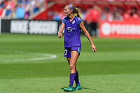 Bridgeview, IL - Saturday July 22, 2017: Dani Weatherholt during a regular season National Women's Soccer League (NWSL) match between the Chicago Red Stars and the Orlando Pride at Toyota Park. The Red Stars won 2-1.