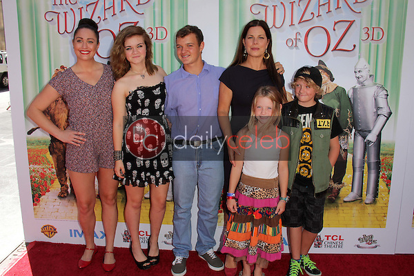 """Marcia Gay Harden and family<br /> at """"The Wizard Of Oz 3D"""" World Premiere Screening and Grand Opening of the TCL Chinese IMAX Theater, Chinese Theater, Hollywood, CA 09-15-13<br /> David Edwards/DailyCeleb.com 818-249-4998"""