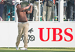 Danthai Boonma of Thailand tees off the first hole during the 58th UBS Hong Kong Golf Open as part of the European Tour on 08 December 2016, at the Hong Kong Golf Club, Fanling, Hong Kong, China. Photo by Marcio Rodrigo Machado / Power Sport Images