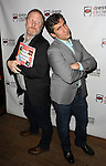 Hunter Bell and Seth Rudetsky attends the Seth Rudetsky Book Launch Party for 'Seth's Broadway Diary' at Don't Tell Mama Cabaret on October 22, 2014 in New York City.
