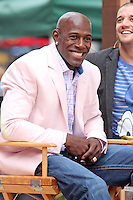 "Football player Donald Driver form ""Dancing With the Stars"" Season 14 outside ABC's ""Good Morning America"" Times Square studio in New York, 23.05.2012..Credit: Rolf Mueller/face to face / Mediapunchinc"