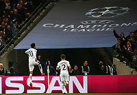 Dele Alli of Tottenham Hotspur celebrates after scoring his second against Real Madrid during the UEFA Champions League Group H match between Tottenham Hotspur and Real Madrid at Wembley Stadium on November 1st 2017 in London, England. Foto Phc / Panoramic / Insidefoto