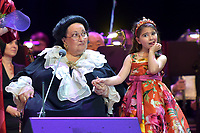 Montserrat Caballe and her granddaughter Daniela<br /> Perfomance at State Kremlin palace, Moscow, Russia on June 06,  2018.<br /> **Not for sale in Russia or FSU**<br /> CAP/PER/EN<br /> &copy;EN/PER/Capital Pictures