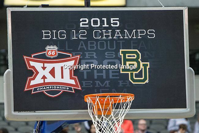 Bayor wins the Big 12 women's basketball championship final, Sunday, March 08, 2015 in Dallas, Tex. (Dan Wozniak/TFV Media via AP Images)