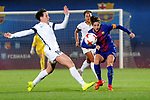Spanish Women's Football League Iberdrola 2017/18 - Game: 9.<br /> FC Barcelona vs Madrid CFF: 7-0.<br /> Marta Garcia vs Vicky Losada.