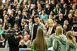 18.02.2018,  Helmut-K&ouml;rnig-Halle, Dortmund, GER, Deutsche Leichtathletik Meisterschaften Dortmund 2018, <br /> <br /> im Bild | picture shows:<br /> Kugelsto&szlig;erin Julia Ritter (TV Wattenscheid 01) wird zur Jugendathletin des Jahres 2017 gew&auml;hlt, <br /> <br /> Foto &copy; nordphoto / Rauch