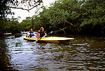 FL: Florida Everglades National Park,.Kayaking near Marco Island..Photo Copyright: Lee Foster, lee@fostertravel.com, www.fostertravel.com, (510) 549-2202.Image: flever238