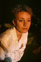 Jay Saussey, an actress on the New Zealand TV series, Shortland Street, in 1995