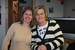 Jackie Byrne and Paula Boyle.at the money more residents christmas dinner..Picture Fran Caffrey www.newsfile.ie