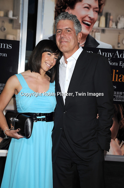 Otavia and Anthony Bourdain