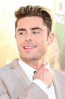 HOLLYWOOD, CA - JUNE 29: Zac Efron at the premiere of Mike And Dave Need Wedding Dates at ArcLight Cinemas Cinerama Dome on June 29, 2016. Credit: David Edwards/MediaPunch