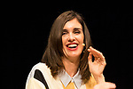 Paz Vega during press conference after the end of filiming 'La Casa del Caracol' at Malaga Film Festival 2020 August 23 2020. (Alterphotos/Francis González)