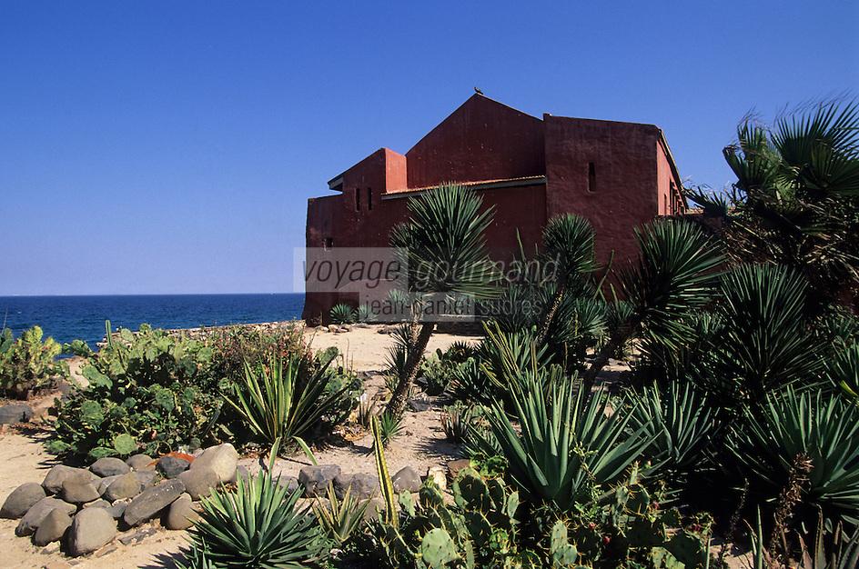Afrique/Afrique de l'Ouest/Sénégal/Gorée : La maison des esclaves (1776) construite par les hollandais