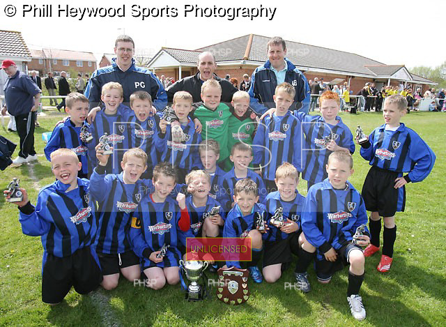 Coulton Cup final 2008..Foxhall U-9 v FC Rangers U-9..pic  © Phill Heywood.tel 07806 775649