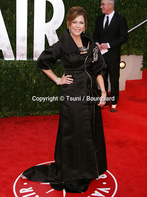 Rita Wilson _55   -<br /> Vanity Fair After Oscars Party In Los Angeles.